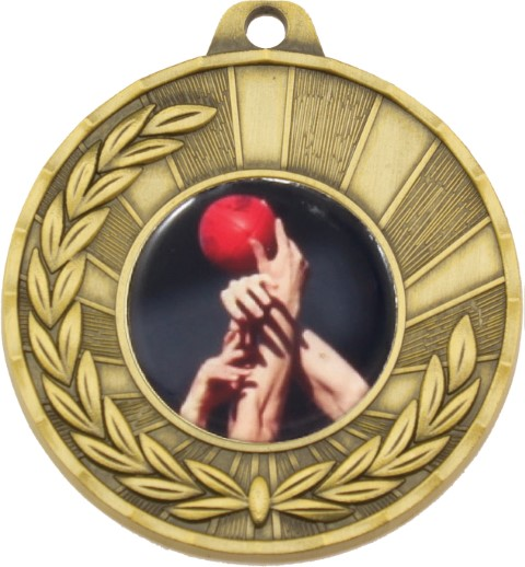 Heritage Medal Aussie Rules Gold