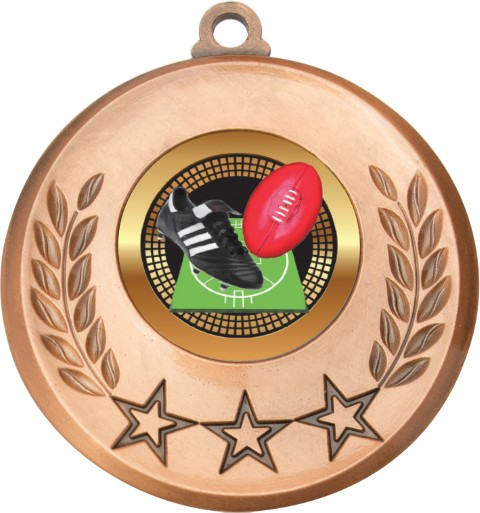 Laurel Medal Aussie Rules Bronze