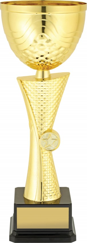 Cup Gold Helix 370mm