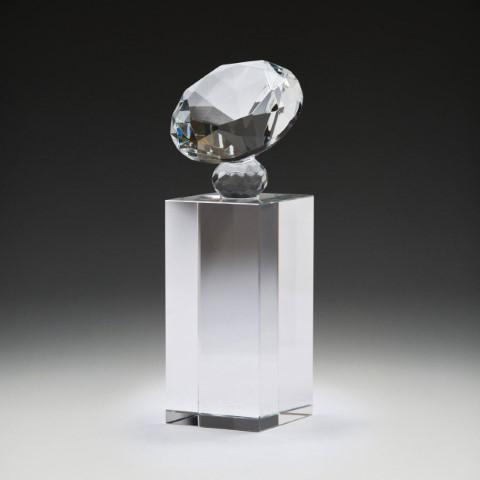 Crystal Diamond Block 180mm