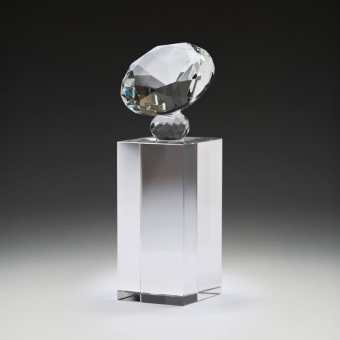 Crystal Diamond Block 140mm
