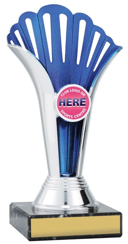 Blue Fan Cup 185mm