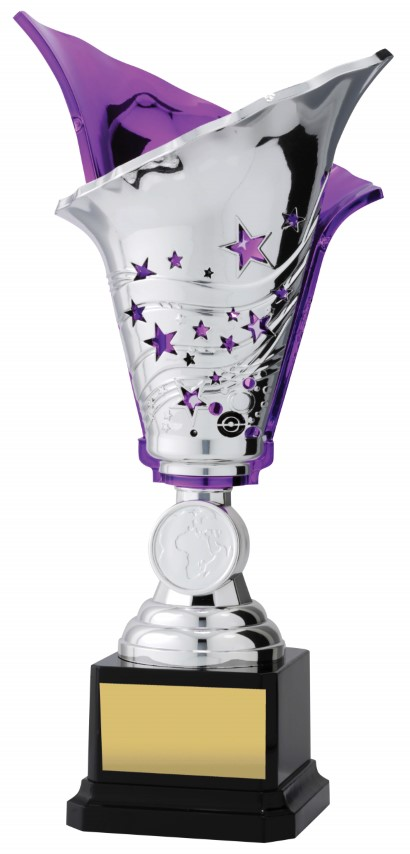 Silver - Purple Fire 265mm