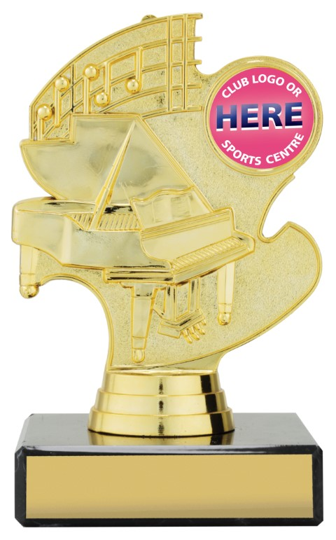 Music Trophy 130mm