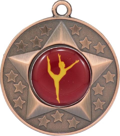 Stars Medal Dance Bronze