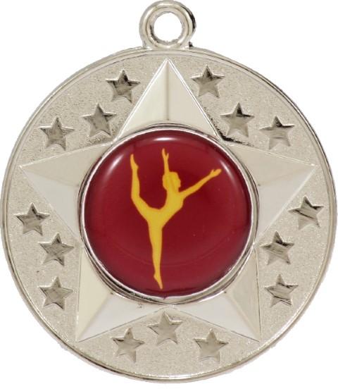 Stars Medal Dance Silver