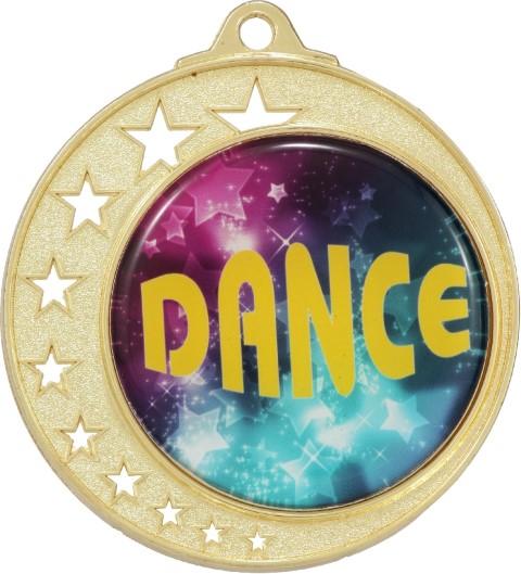 Stars Large Medal Gold