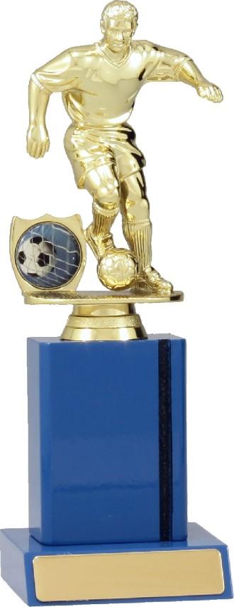 Soccer Blue Timber 215mm
