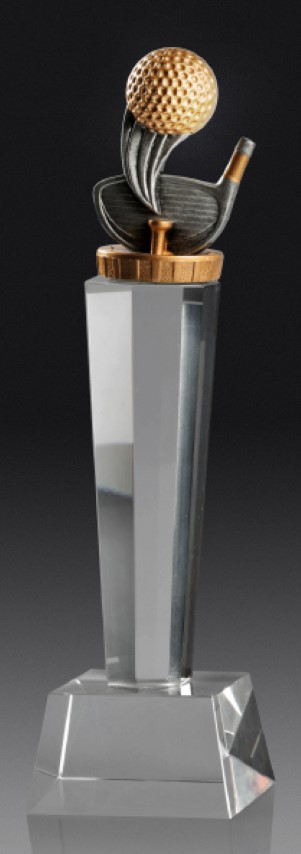 Golf Crystal Pedestal 240mm