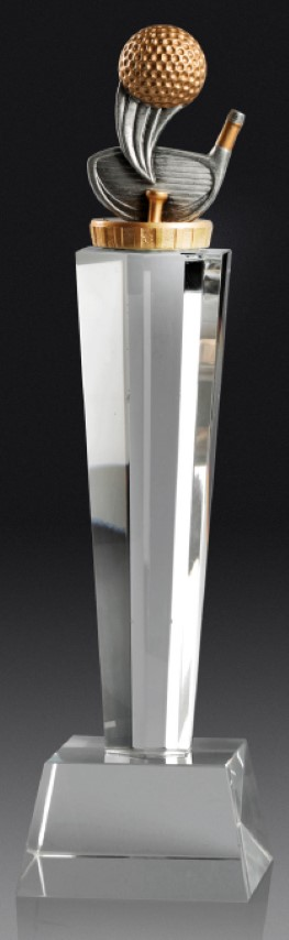 Golf Crystal Pedestal 290mm