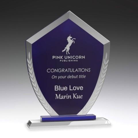 Glass Blue Charter 215mm