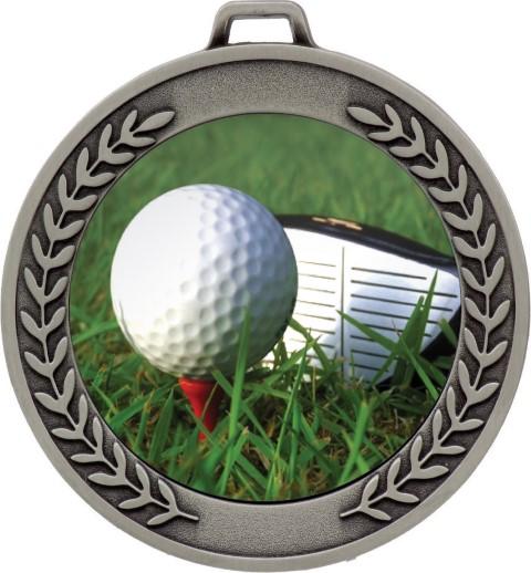 Prestige Golf Medal Silver