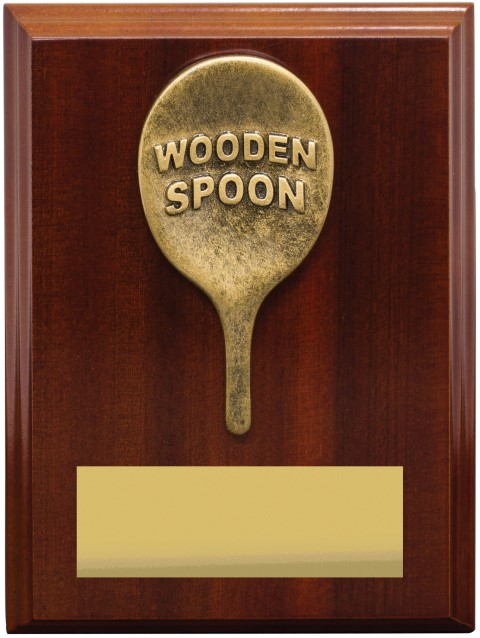 Wooden Spoon Plaque 175mm