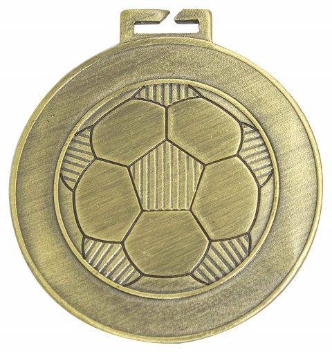 Soccer Halo Loop Medal