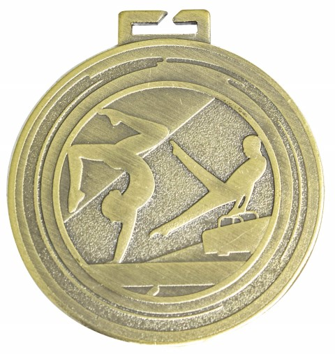 Gymnastics Aura Loop Medal