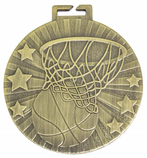 Basketball Cosmos Loop Medal