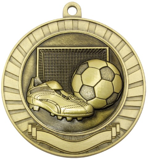 Eco Scroll Soccer Gold
