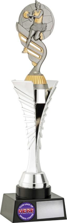 Netball Silver Spear 315mm