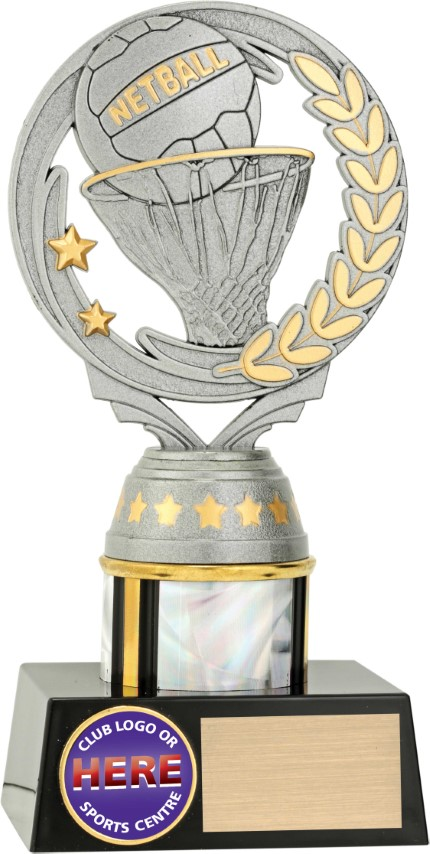 Netball Silver Dazzle 180mm