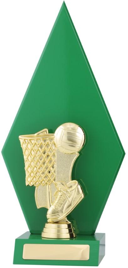 Netball Green Arrow 285mm