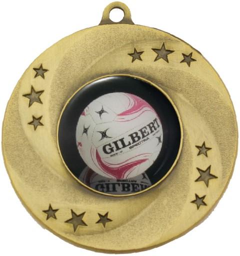 Astral Medal Netball Gold