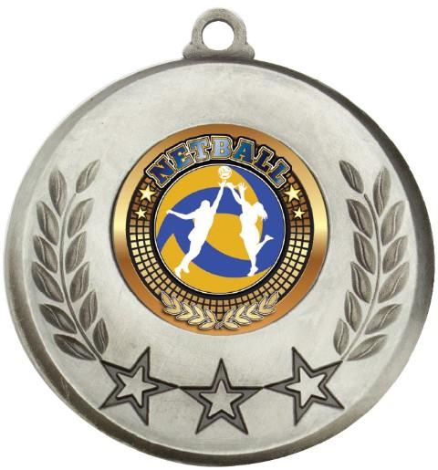 Laurel Medal Netball Silver