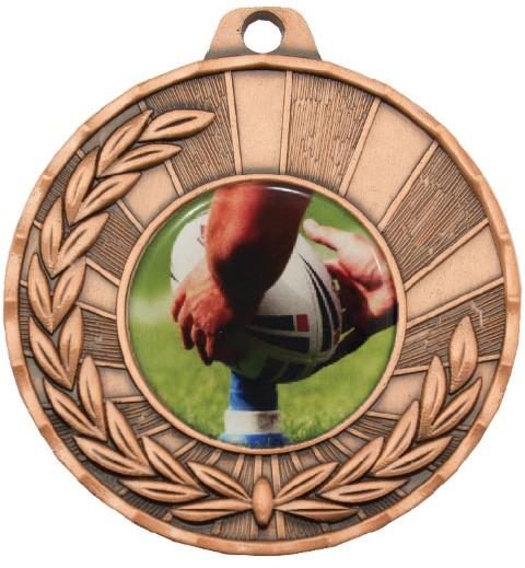 Heritage Medal Rugby Bronze