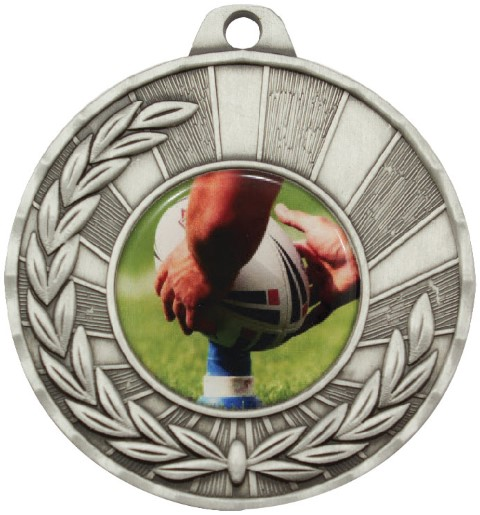 Heritage Medal Rugby Silver