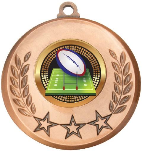 Laurel Medal Rugby Bronze
