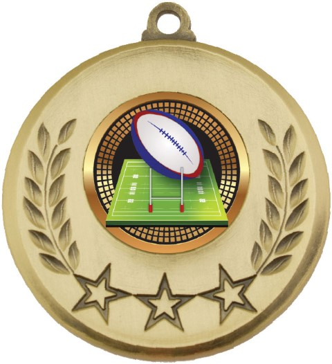 Laurel Medal Rugby Gold