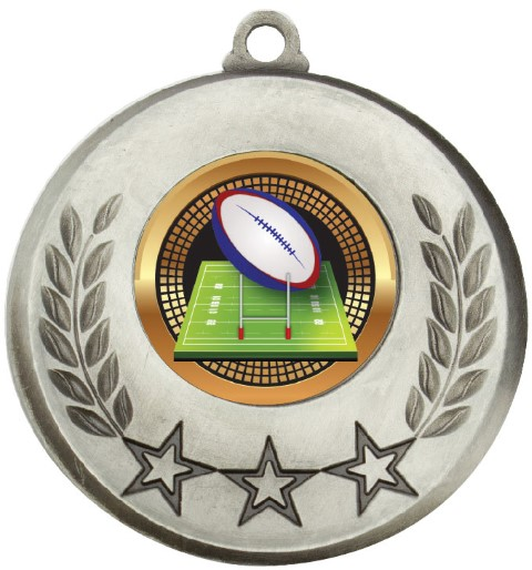 Laurel Medal Rugby Silver