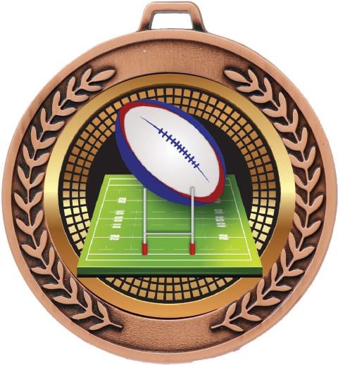 Prestige Medal  Rugby Bronze