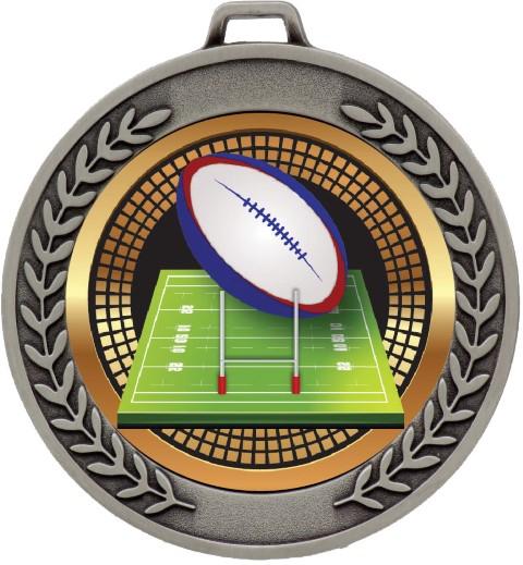 Prestige Medal  Rugby Silver