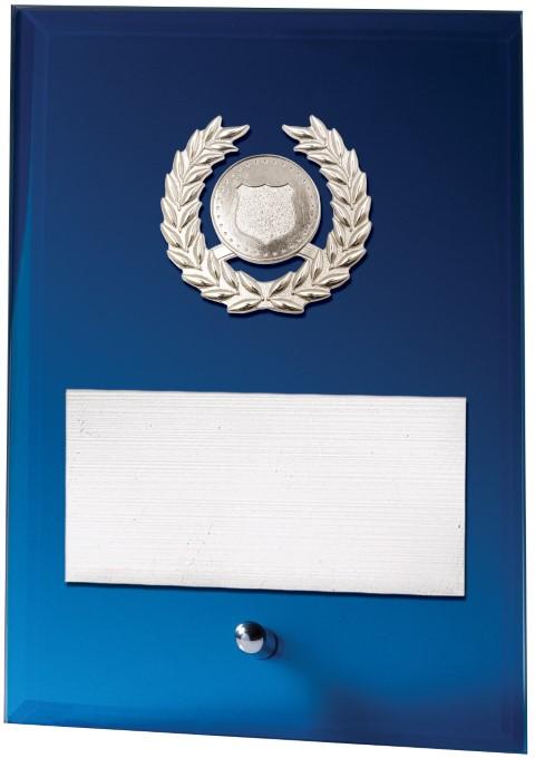 Blue Plaque - Holder 200mm