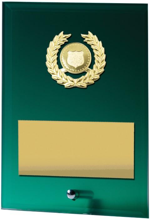 Green Plaque - Holder 200mm