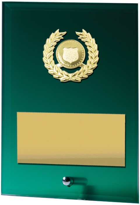 Green Plaque - Holder 150mm