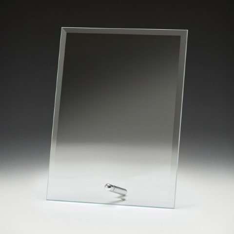 Glass Budget Plaque 200mm