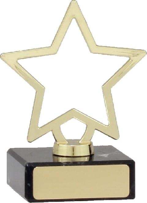Mini Metal Star 95mm