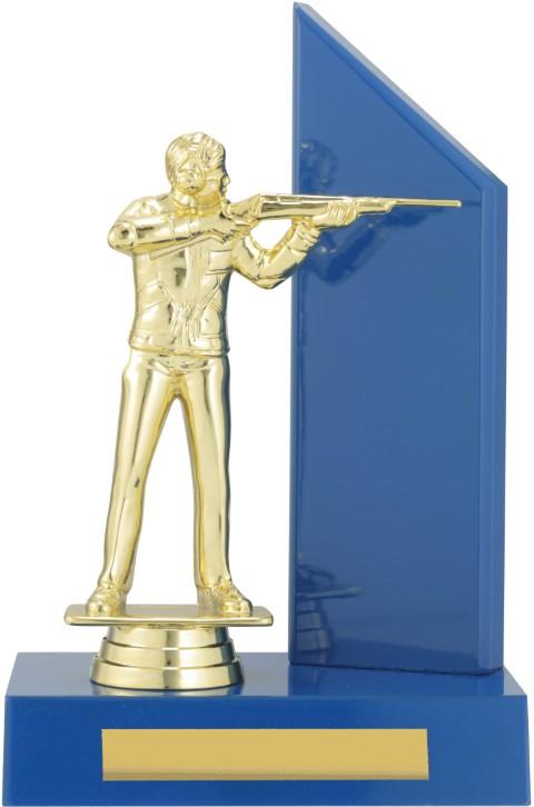 Rifle Shooting Blue Timber 200mm