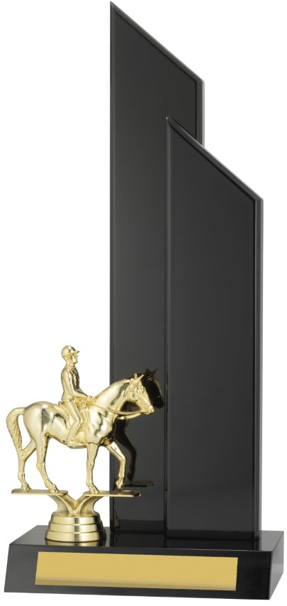 Horse Black Timber 340mm